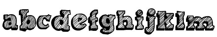 Sketch Nothing Font LOWERCASE