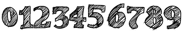 Sketch Toska Font OTHER CHARS