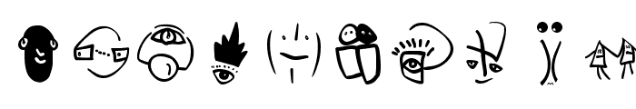 SketchBats Medium Font OTHER CHARS