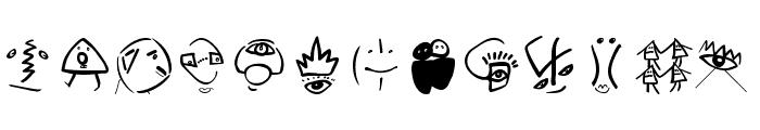 SketchBats Medium Font UPPERCASE