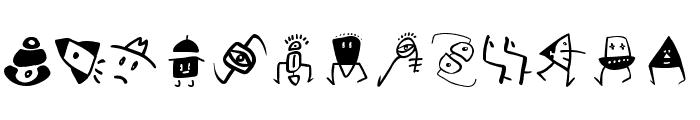 SketchBats Medium Font LOWERCASE