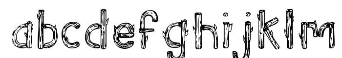 SketchLogs Font LOWERCASE