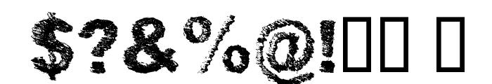 SketchMe Regular Font OTHER CHARS