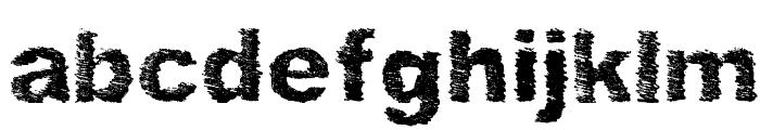 SketchMe Regular Font LOWERCASE