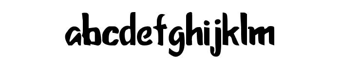Sketcha Font LOWERCASE