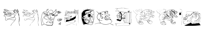 SketchesOfSpain Font OTHER CHARS