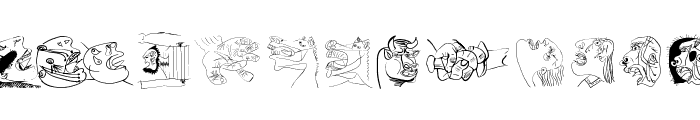 SketchesOfSpain Font UPPERCASE