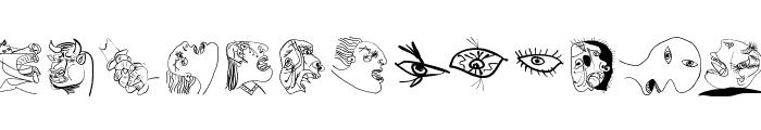 SketchesOfSpain Font LOWERCASE