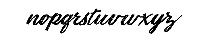 Sketching Summer Personal Use Font LOWERCASE