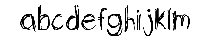 Sketchit Means Sketchit Font LOWERCASE