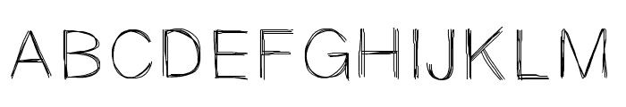 Sketchtica Font UPPERCASE