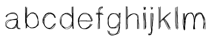 Sketchtica Font LOWERCASE