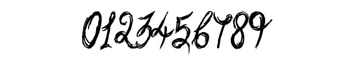Sketchy Script Font OTHER CHARS