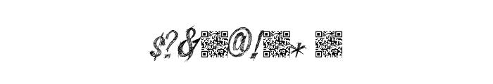 SketchyBuilder Font OTHER CHARS