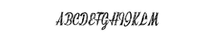 SketchyBuilder Font UPPERCASE