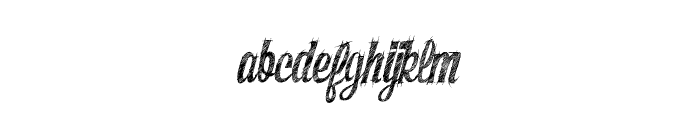 SketchyBuilder Font LOWERCASE