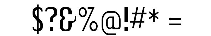 SkiCargo Font OTHER CHARS