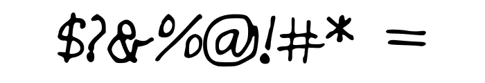 Skim_Milk Font OTHER CHARS