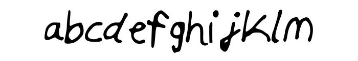 Skim_Milk Font LOWERCASE
