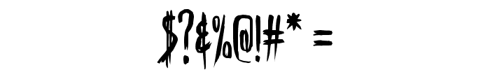 Skinner AOE Font OTHER CHARS