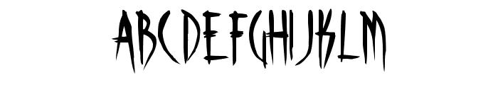 Skinner AOE Font UPPERCASE