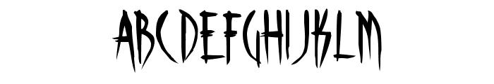 Skinner AOE Font LOWERCASE