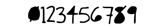 Skinny Black Font OTHER CHARS