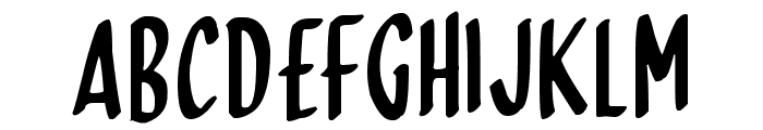 Skinny Dipping Font UPPERCASE