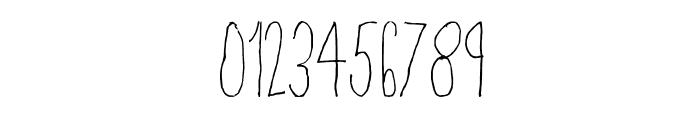 Skinny Regular Font OTHER CHARS