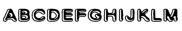 Skinny Zebra 2 Font LOWERCASE