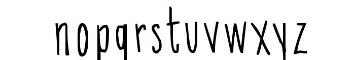SkinnyChick Font LOWERCASE
