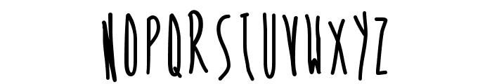 SkinnyVanillaLatte Font UPPERCASE