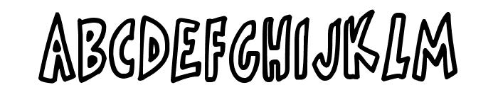 Skinnymalink Font UPPERCASE