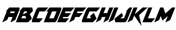 Skirmisher Condensed Italic Font LOWERCASE