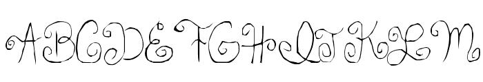 Skirt Girl Font UPPERCASE