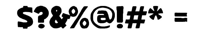 Skranji Bold Font OTHER CHARS