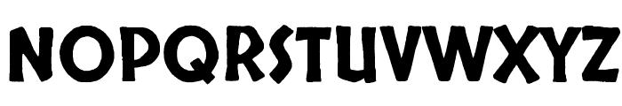 Skranji Font UPPERCASE