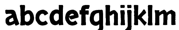 Skranji Font LOWERCASE
