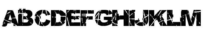 Skratch Punk Font LOWERCASE