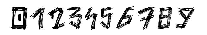 Skratch Regular Font OTHER CHARS