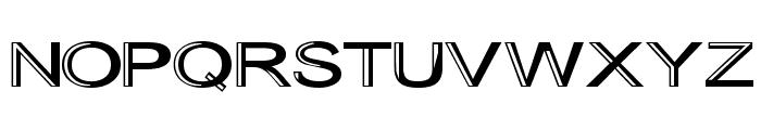 Skunkline Font UPPERCASE