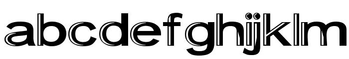 Skunkline Font LOWERCASE