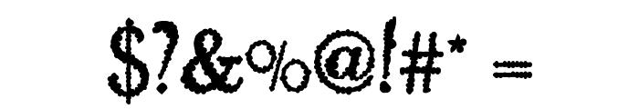 Skurri Font OTHER CHARS