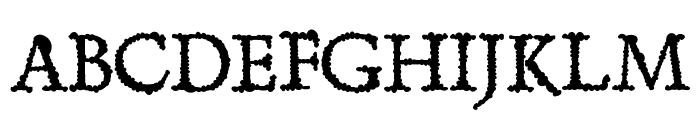 Skurri Font UPPERCASE