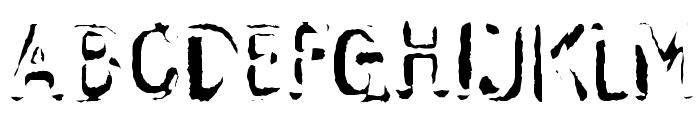 Skwieker Regular Font UPPERCASE