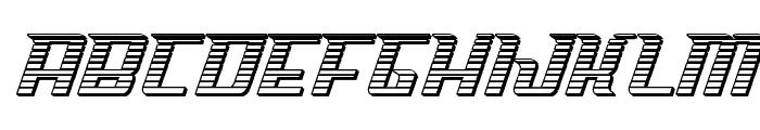 Sky Cab Chrome Font LOWERCASE
