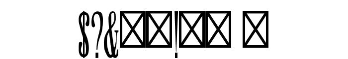 SkyHigh-Regular Font OTHER CHARS