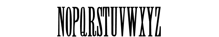 SkyHigh-Regular Font UPPERCASE