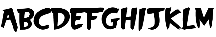 SkyScrappers Font UPPERCASE