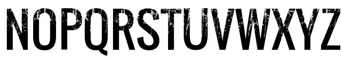Skyfall Regular Font UPPERCASE